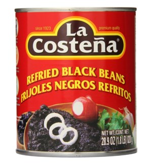 LA COSTENA #3550 REFRIED BLACK BEANS