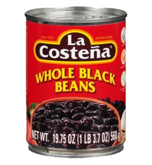 LA COSTENA #3565 WHOLE BLACK BEANS