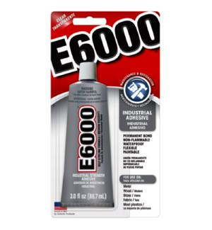 E6000 #37300 INDUSTRIAL ADHESIVE
