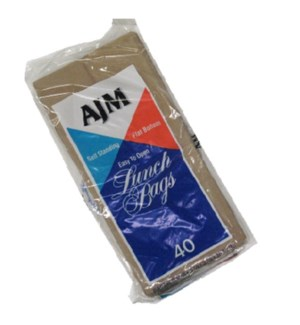 LUNCH BAGS PAPER #6063