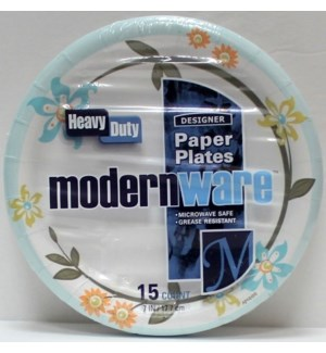 "MW #75178 7"" PAPER PLATE/MODREN WARE"