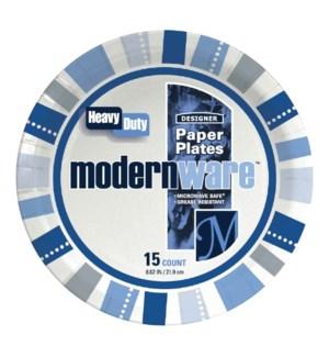 "MW #75179 8.75"" PAPER PLATE/MODREN W"