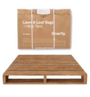 25CT LAWN & LEAF BROWN BAGS
