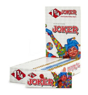 JOKER #44694 CIGARETTE PAPERS WHITE
