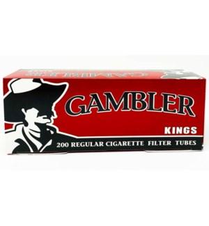 GAMBLER CIG FLTR TUBE/KING REG #GRT2