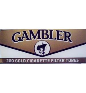 GAMBLER CIG FLTR TUBE/KING LIGHT #GLT20