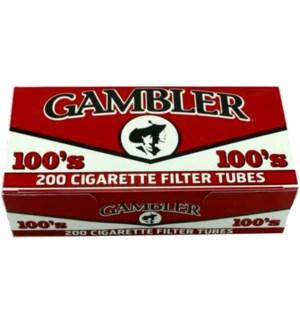 GAMBLER CIG FLTR TUBE/100'S GRFTC