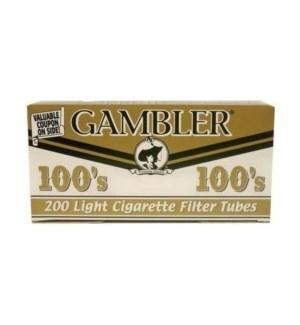 GAMBLER CIG FLTR TUBE/100'S LIGHT