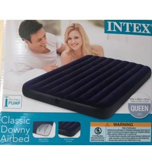 INTEX #68759E AIRBED CLASSIC DOWNY