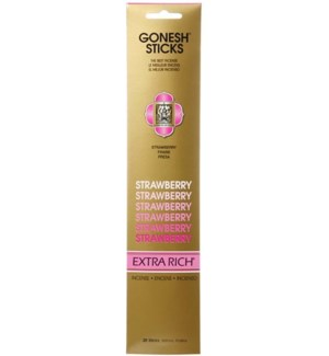 GONESH STRAWBERRY INCENSE STICK