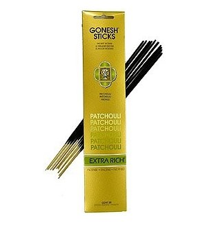 GONESH PATCHOULI INCENSE STICKS