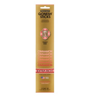 GONESH CINNAMON INCENSE STICKS