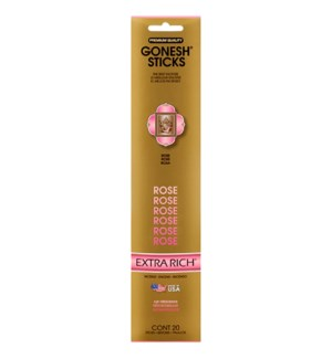 GONESH ROSE INCENSE STICKS