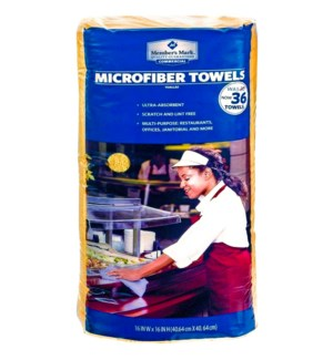 MICROFIBER TOWELS #9891 MULTI PURPOSE