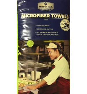 MICROFIBER TOWELS #9893 MULTI PURPOSE