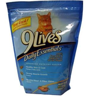 9 LIVES BAG #5255 DAILY ESSENTIAL/SLM