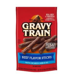 GRAVY TRAIN #51370 BEEF FLAVOR STICKS BAG