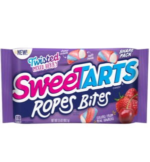 SWEETARTS #25675 ROPE BITES MIXED BERRY