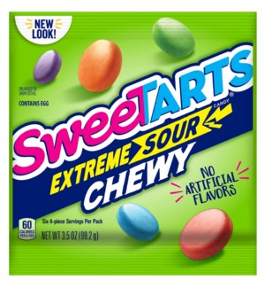 SWEETART #63407 EXTREME SOUR CHEW