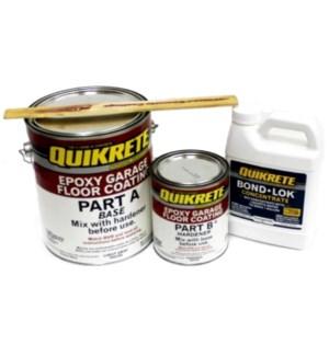 QUIKRETE-L.GRAY EPOXY GARAGE FLOOR KIT