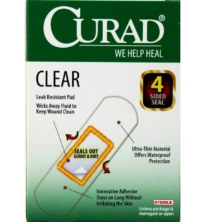 CURAD #320854 BANDAGES CLEAR
