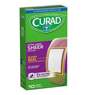 CURAD #CUR2277RB BANDAGES, SHEER XL