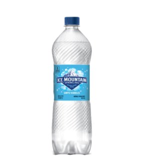ICE MOUNTAIN WATER #15526 NATURAL SPARKLING