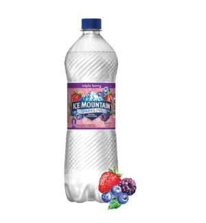 ICE MOUNTAIN WATER #44652 TRIPLE BERRY SPARKLING