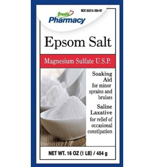 FRED #19086 EPSOM SALT