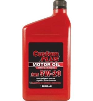MOTOR OIL 5W-20 CUSTOM PLUS