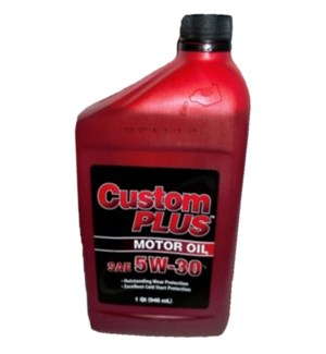 MOTOR OIL 5W-30 CUSTOM PLUS