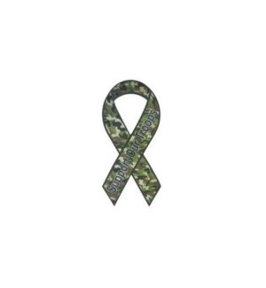 MAGNETIC RIBBON/SUPPORT OUR TROOPS