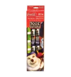 KT #04R-3850 BOOK COVER/COCA COLA