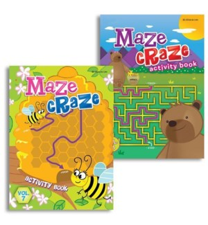 KAPPA #B1138 COLORING BOOK/MAZE CRAZE