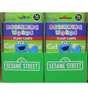 KAPPA #B620000 SESAME STREET FLASH CARDS