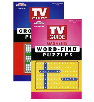 KAPPA #350 KAPPA TV GUIDE PUZZLE BOOK