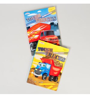 KAPPA #48501 COLROING/ACTIVITY BOOK,TRUCKS
