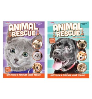 KAPPA #148503 COLORING BOOK/ANIMAL RESCUE