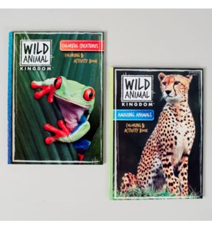 KAPPA #48510 COLORIG BOOK/WILD ANIMAL
