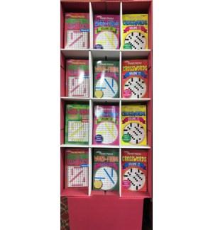 KAPPA DIS. #B3614 PUZZLE BOOK/SMALL WF&XW BOOK