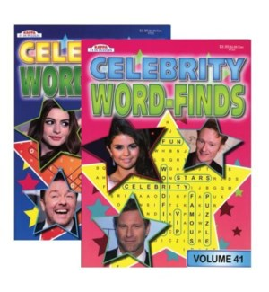 KAPPA #B3723 WORD FIND/CELEBRITY