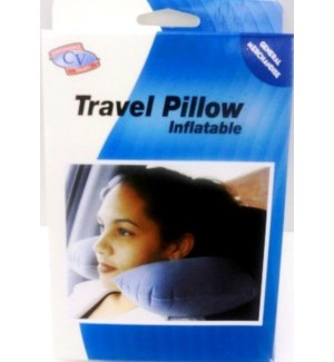 TRAVEL PILLOW #30440 INFLATABLE
