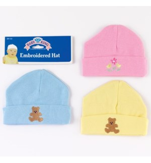 BK133 EMBROIDERED HAT