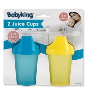 BK17550 CLEAR JUICE CUP, ASST