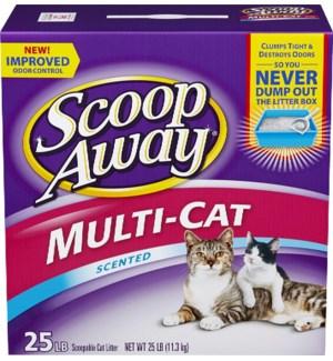 SCOOP AWAY #02014 MEADOW FRESH DUST FREE CAT LITTE