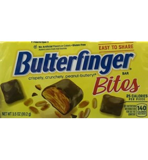 TH #10002 BUTTERFINGER BITES CANDY BOX