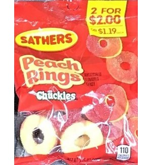 SATHERS PEACH RING #01304 PP2 FOR $2.00