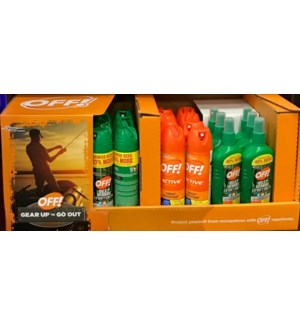 OFF! #77596 MOSQUITO REPELLENT SPRAY DIS