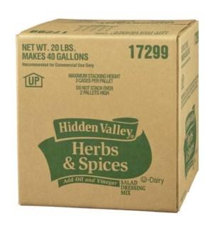 HIDDEN VALLEY #17299 POWDER HERBS & SPICES
