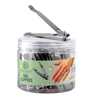 BEAUTY NAIL CLIPPER #22003 JAR